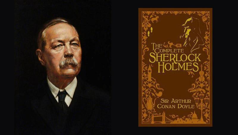 นักเขียน อาร์เธอร์ โคนัน ดอยล์ เชอร์ล็อก โฮมส์