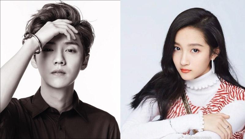 EXO-M Weibo กวนเสี่ยวถง ประกาศคบแฟน ลู่หาน ลู่หาน EXO ลู่หานคนจริง2017
