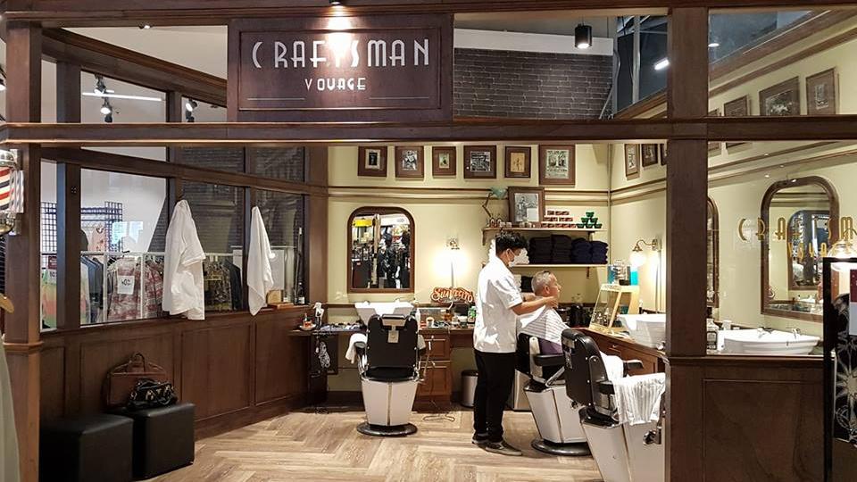 Craftsman Voyage บาร์เบอร์ ร้านตัดผมชาย วินเทจ