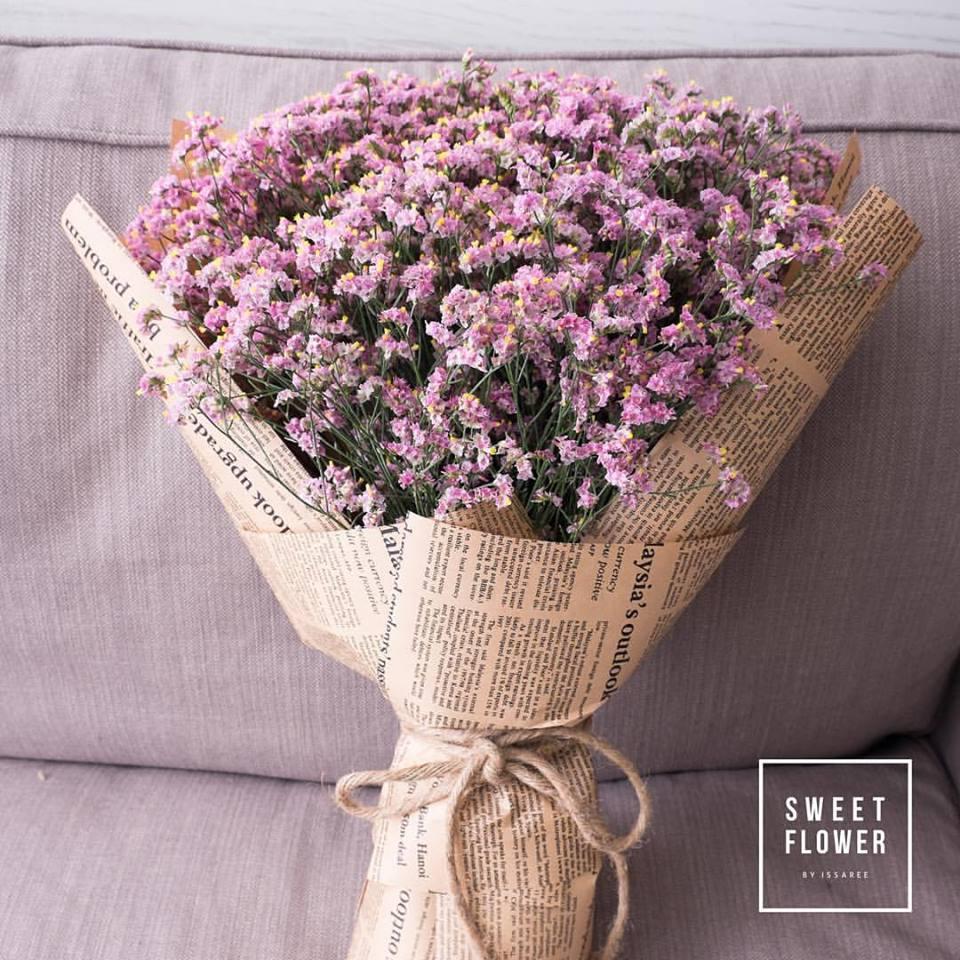Caspia เป็นดอกไม้ที่ทนร้อนและเก็บแห้งได้