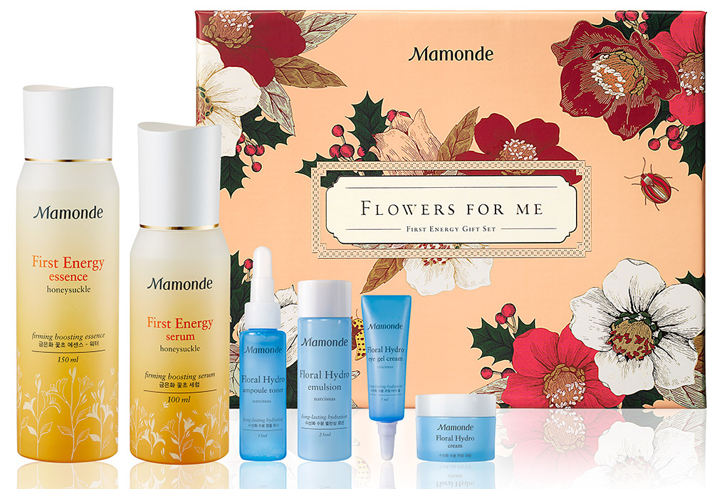 MAMONDE flowers for me first energy gift_set (조합)