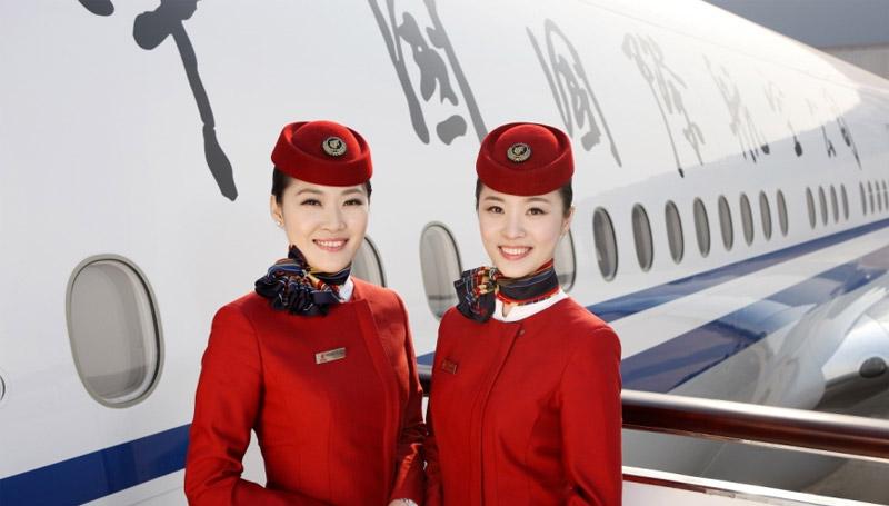 Air China สจ๊วต สายการบิน อาชีพ อาชีพในฝัน แอร์โฮสเตส