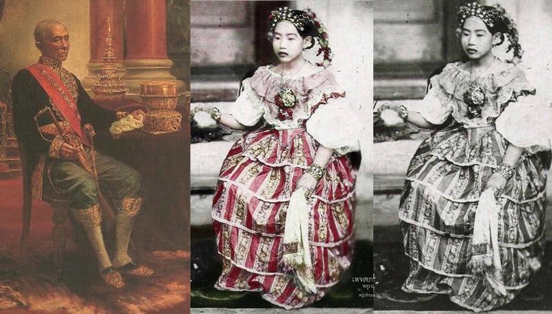 พระภรรยาเจ้า พระมหากษัตริย์ไทย พระสนม รัชกาลที่ 4 เจ้าจอมมารดา เจ้าจอมมารดาเพ็ง เรื่องในวัง