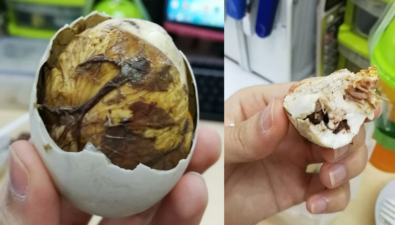 อาหารแปลก เรื่องแปลก ไข่ ไข่ข้าว ไข่ลูกลาว