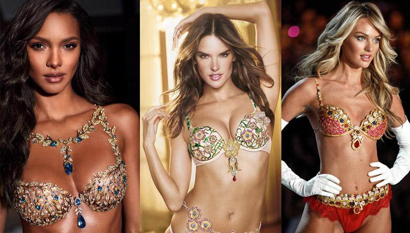 Fantasy Bra Victoria's Secret วิคตอเรียซีเคร็ท แฟชั่นโชว์ แฟนตาซี บรา