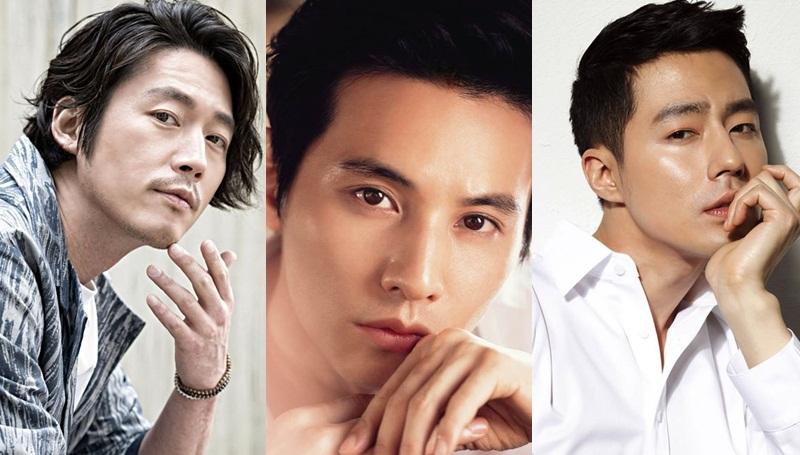 Jang Hyuk Jo In Sung Jung Woo sung Lee Dong Wook Won Bin ดาราเกาหลี โอปป้ารุ่นใหญ่