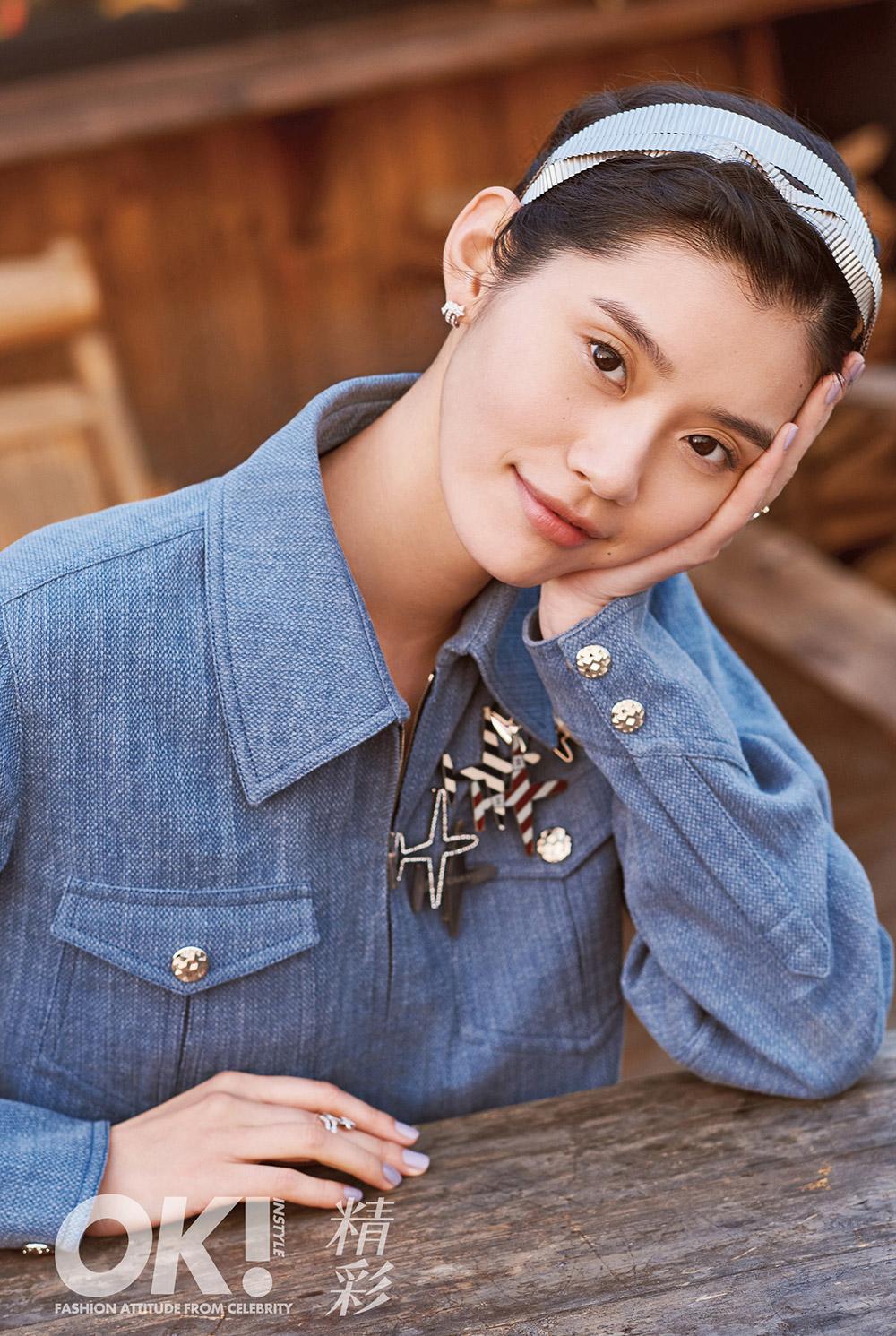 หมิง ซี Ming Xi นางแบบจีน
