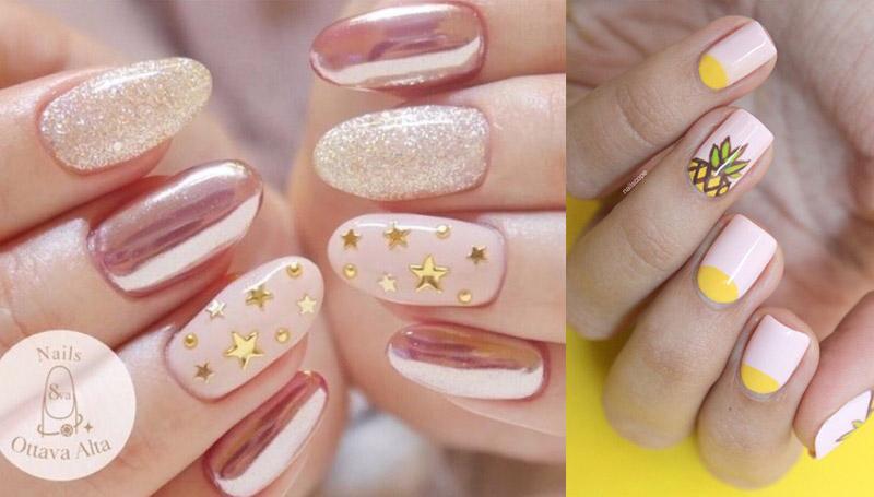 nails ลายเล็บ สีเล็บ เล็บ