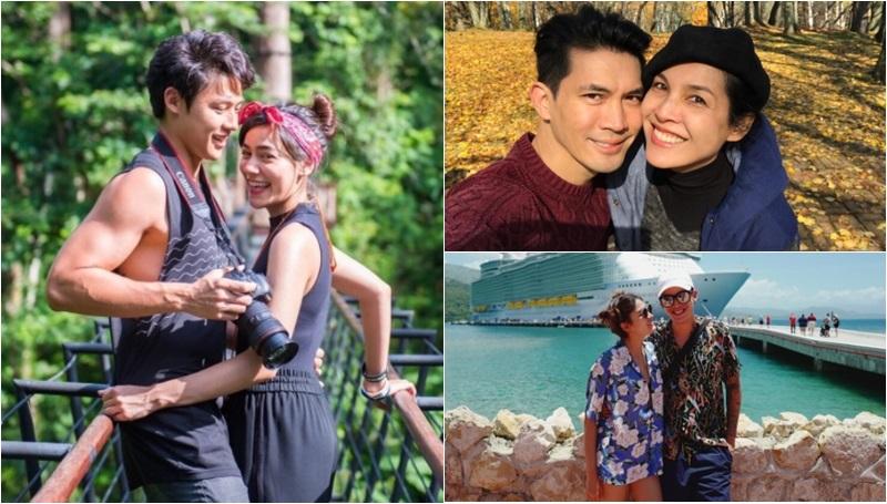 คู่รัก ดาราไทย นักเดินทาง
