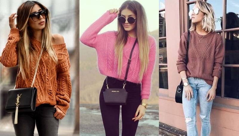เสื้อไหมพรหมแขนยาว + กางเกงขายาว