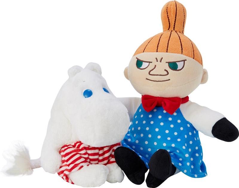 ตุ๊กตา MOOMIN BOY SUMMER ราคา 550 บาท และ LITTLE MY BLUE ราคา 690 บาท