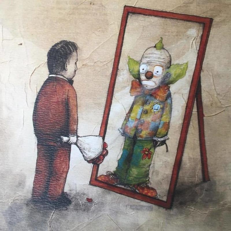 ภาพเสียดสีสังคม