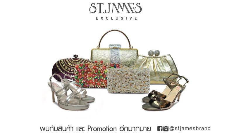 ST.JAMES &TREND กระเป๋า ต้อนรับเทศกาลปีใหม่ รองเท้า