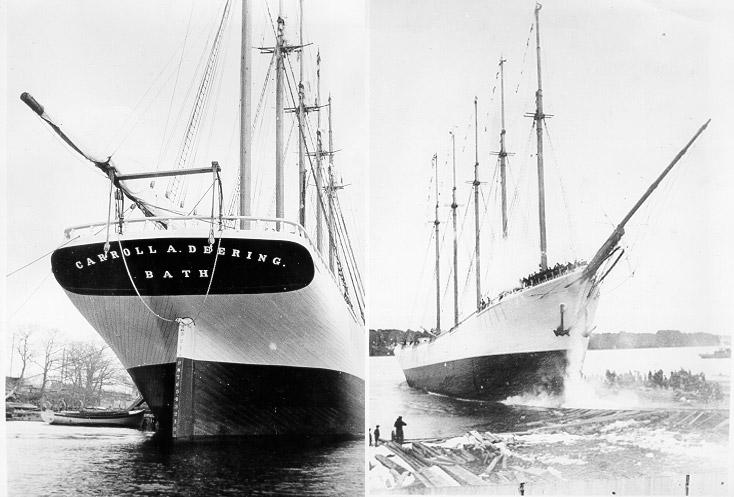 เรือใบซคูเนอร์ : Carroll A.Deering
