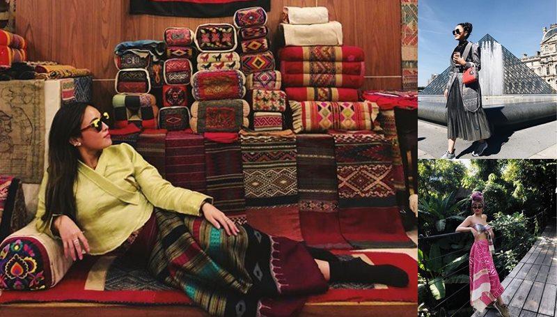 ผ้าไทย เมคอัพอาร์ทิสต์ แพรี่พาย แฟชั่นชุดไทย