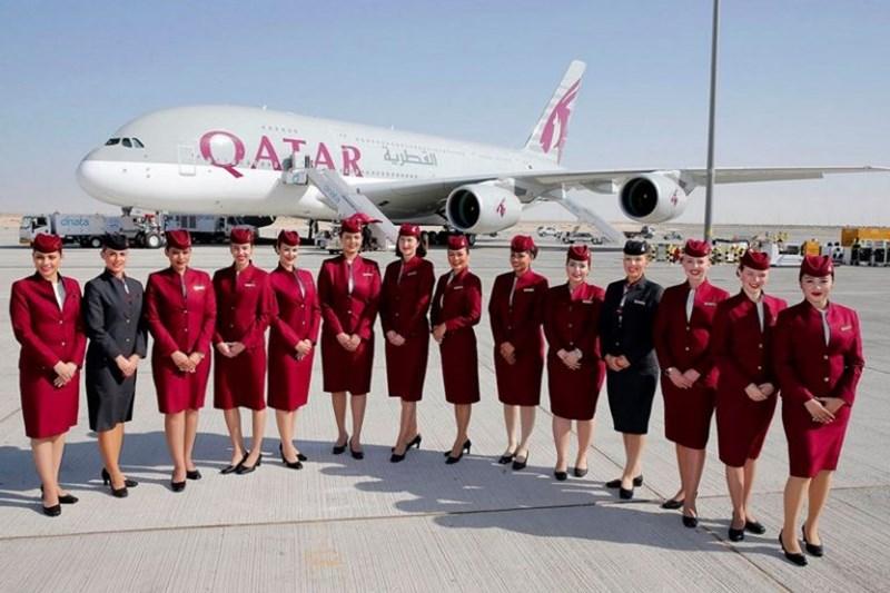 Qatar Airways รับสมัครงาน ลูกเรือ แอร์โฮสเตส