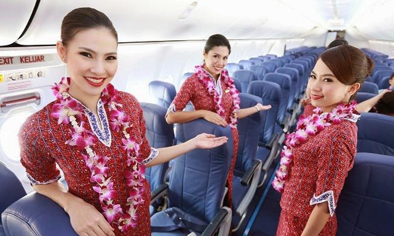 Thai Lion Air รับสมัครงาน ลูกเรือ แอร์โฮสเตส