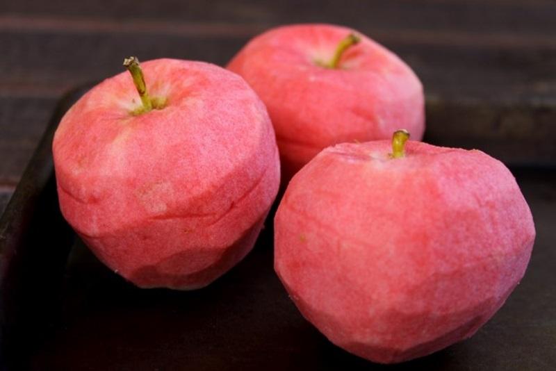 แอปเปิ้ล แอปเปิ้ลเนื้อสีชมพู