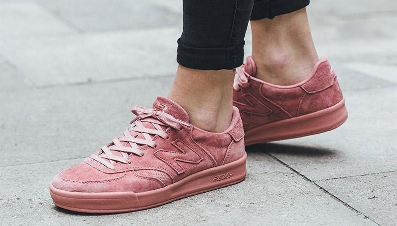 New Balance shoes นิวบาลานซ์ รองเท้า สีชมพู
