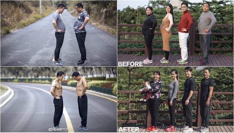 ครอบครัวชาวจีน ลดน้ำหนัก