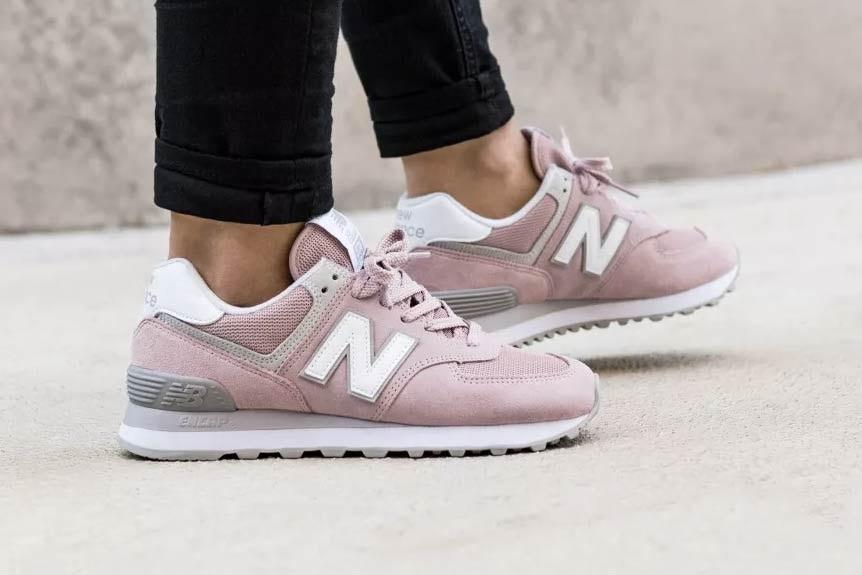 รองเท้า New Balance 574 Pink