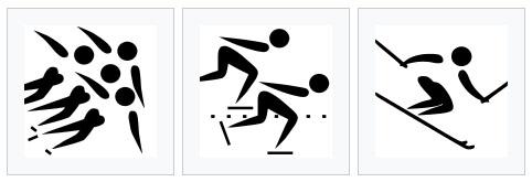 วิ่งสเก็ต (แทร็กระยะสั้น) / วิ่งสเก็ต (ธรรมดา) / สกีลงเขา