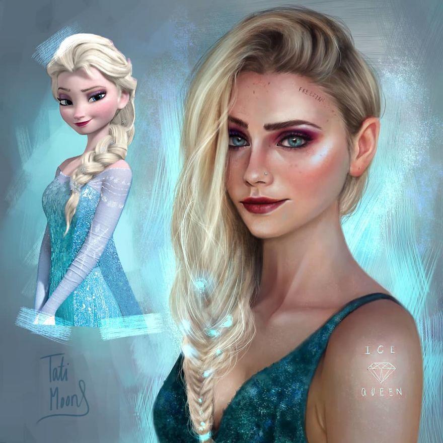 Elsa จากเรื่อง Frozen