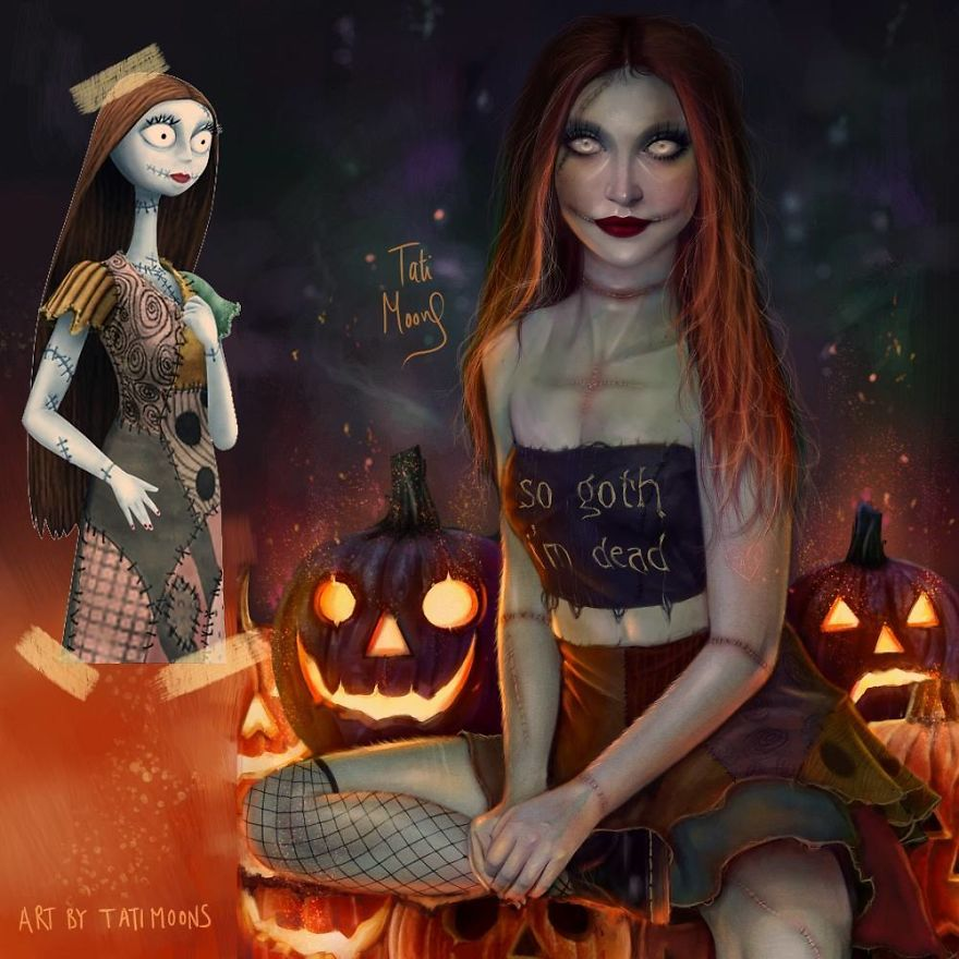 Sally จากเรื่อง The Nightmare Before Christmas