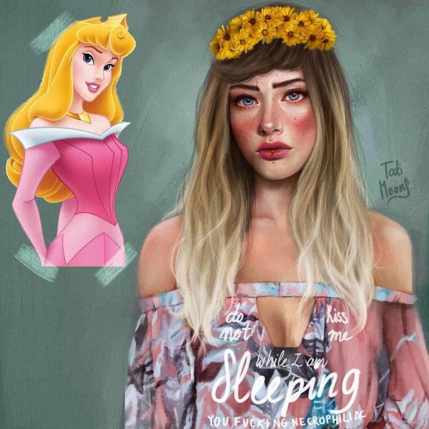 Aurora จากเรื่อง Sleeping Beauty