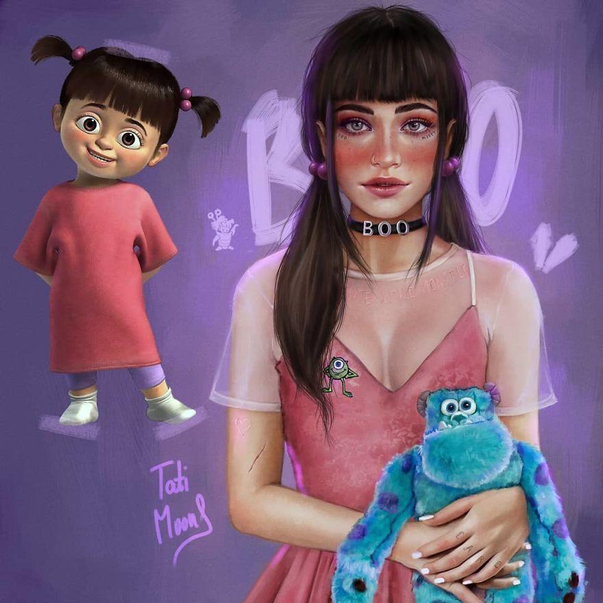 Boo จากเรื่อง Monster Inc