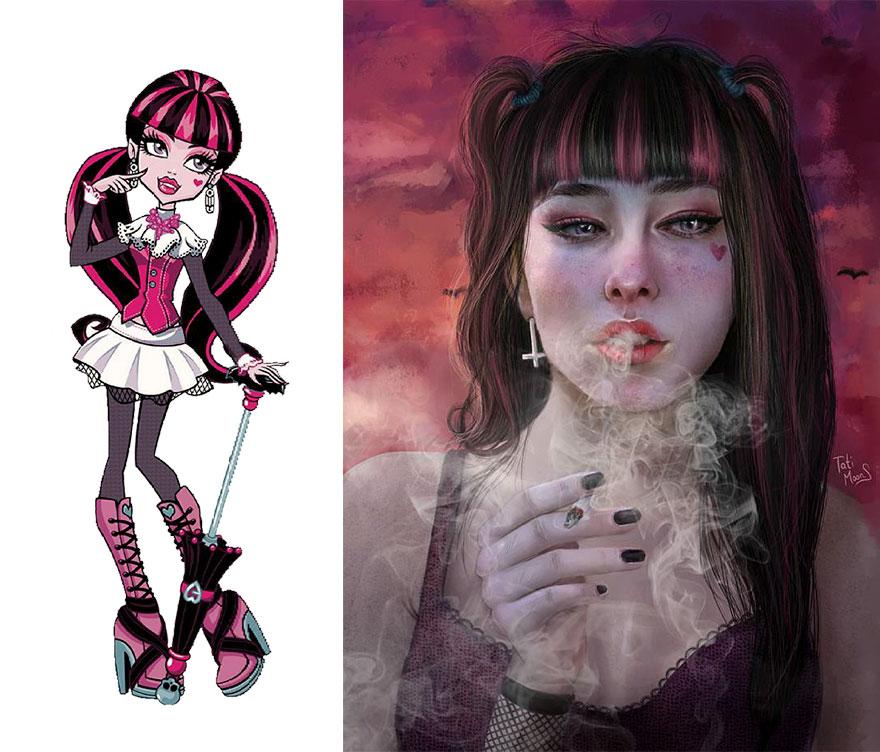Draculaura จากเรื่อง Monster High