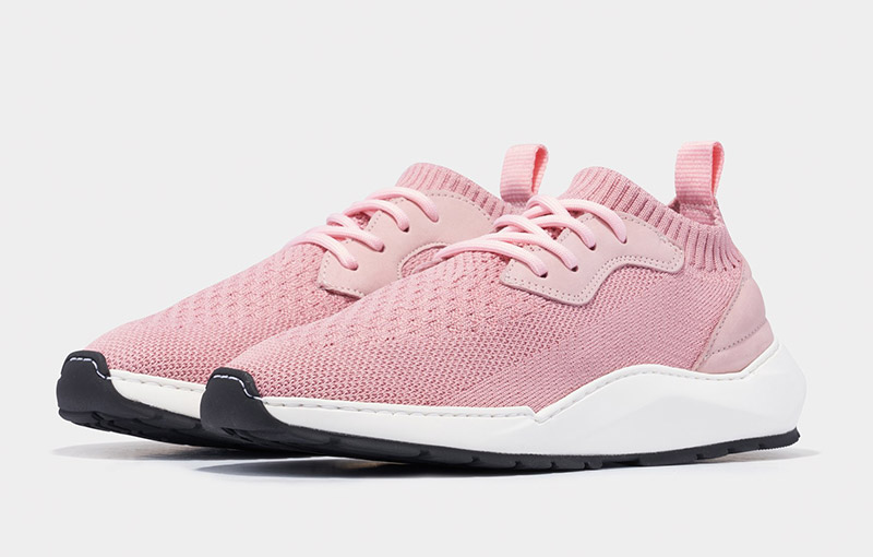 Knit Speed Arch Runner Condor Light Pink