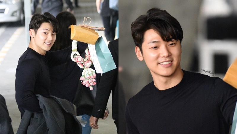 CNBLUE คังมินฮยอก ดาราเกาหลี ประเทศไทย มินฮยอก แฟนมีตติ้ง ไอดอลชายเกาหลี ไอดอลเกาหลี
