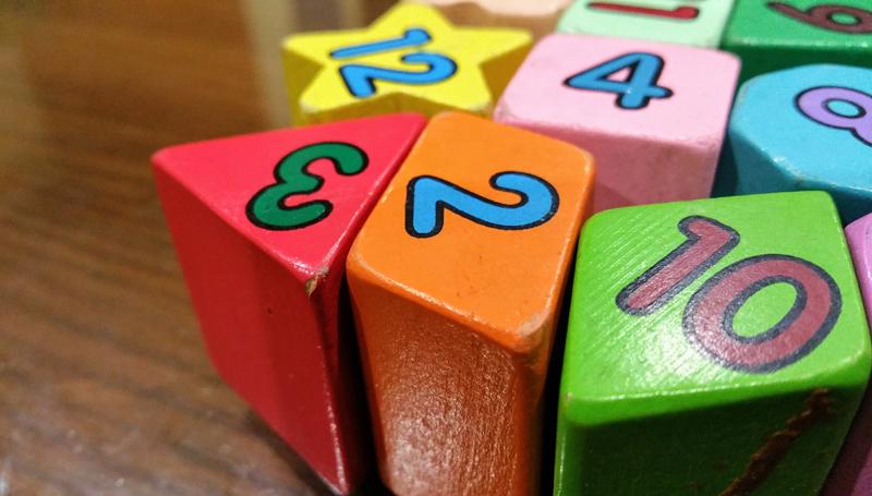 นับเลข เรียนภาษาอังกฤษ