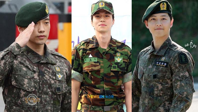 กองทัพ ทหาร ผู้ชายเกาหลีใต้ เกาหลีใต้ เข้ากรม โอปป้า ไอดอล ไอดอลเกาหลี