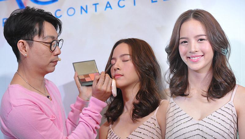 Makeup คอนแทคเลนส์ แต่งหน้า