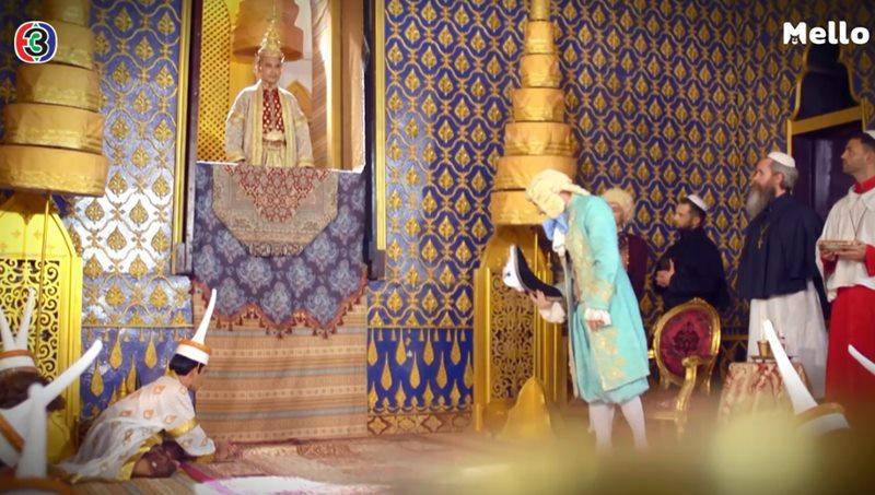 คณะราชทูตฝรั่งเศส เดินทางมากรุงศรีอยุธยา สมัยสมเด็จพระนารายณ์มหาราช