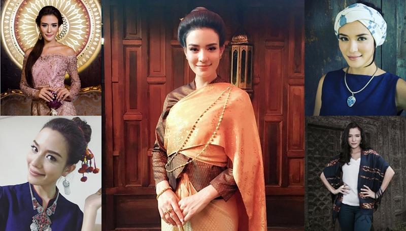 ซูซี่-สุษิรา นักแสดงบุพเพสันนิวาส บุพเพสันนิวาส ผ้าไทย แฟชั่น