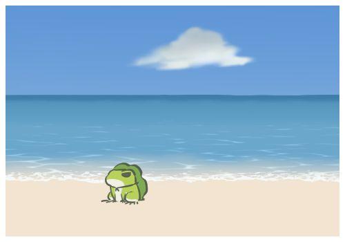 น้องกบท่องโลก Tabikaeru เที่ยวทะเล