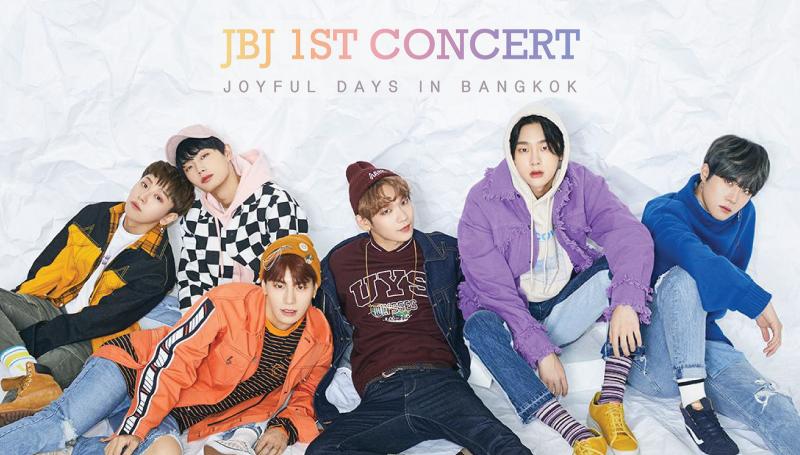 DongHan HyunBin JBJ JoyfulDaysinBangkok Kenta SangGyun TaeHyun YongGuk