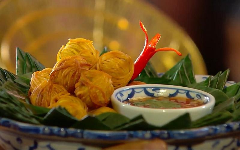 หมูโสร่ง อาหารไทยสมัยโบราณ