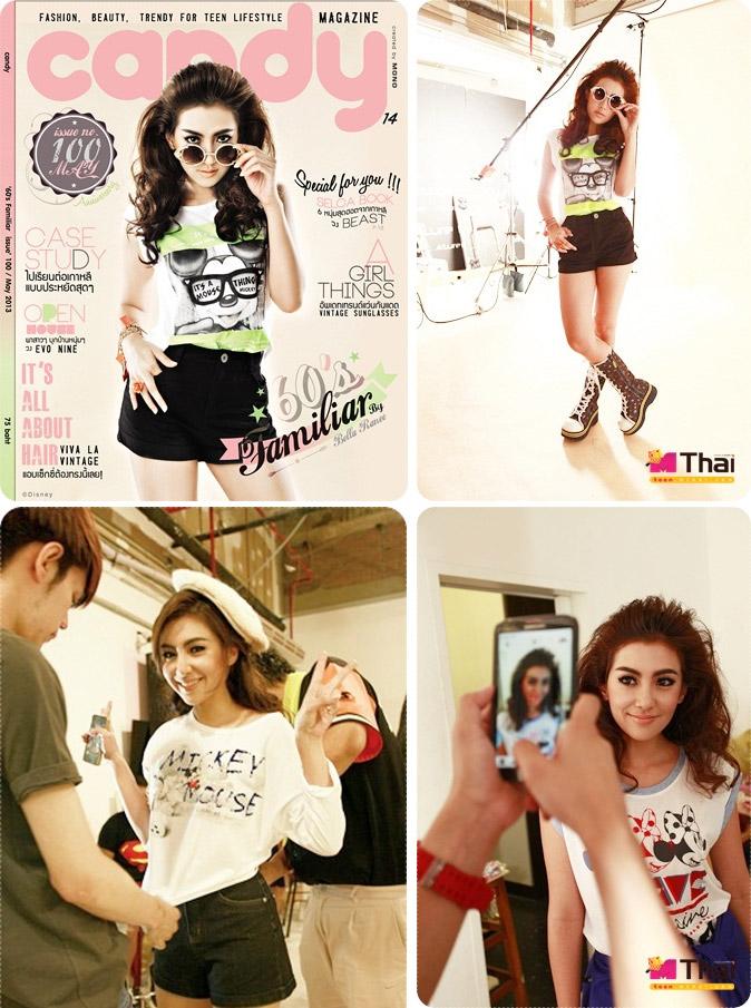 เบลล่า ราณี แฟชั่นปก Candy Issue 100 May 2013