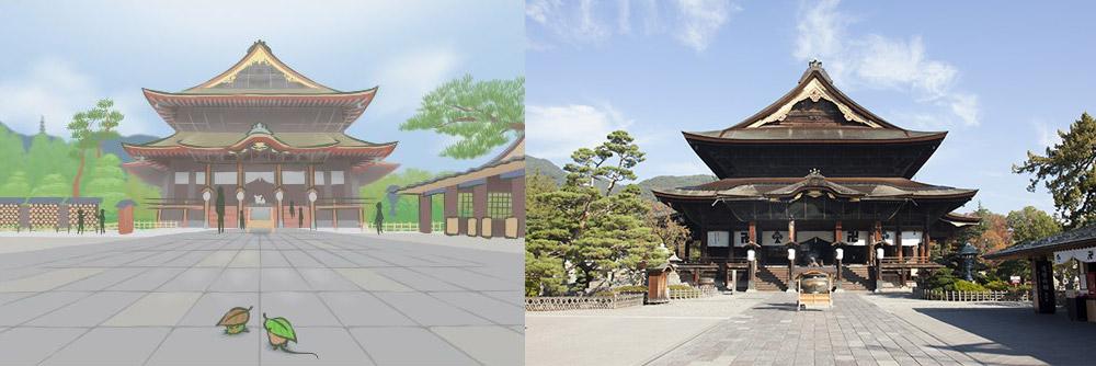 วันเซนโคจิ เป็นวัดพุทธที่เก่าแก่ที่สุดในญี่ปุ่น