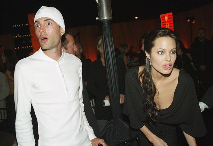 Angelina Jolie กับพี่ชาย James Haven