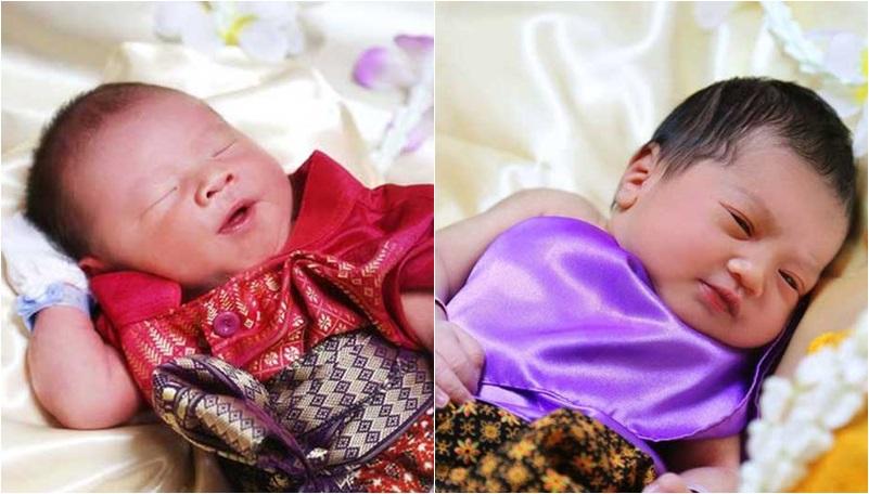 ชุดไทย ทารก บุพเพสันนิวาส พ่อเดช แม่การะเกด