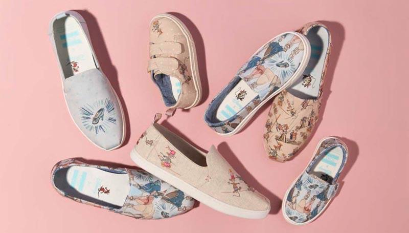disney Toms Toms x Disney รองเท้าดิสนีย์ รองเท้าแฟชั่น เจ้าหญิงดิสนีย์ แว่นตาดิสนีย์