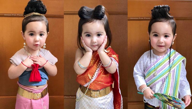 ชุดไทย น้องหรรษา บุพเพสันนิวาส สาวน้อย เด็กน่ารัก