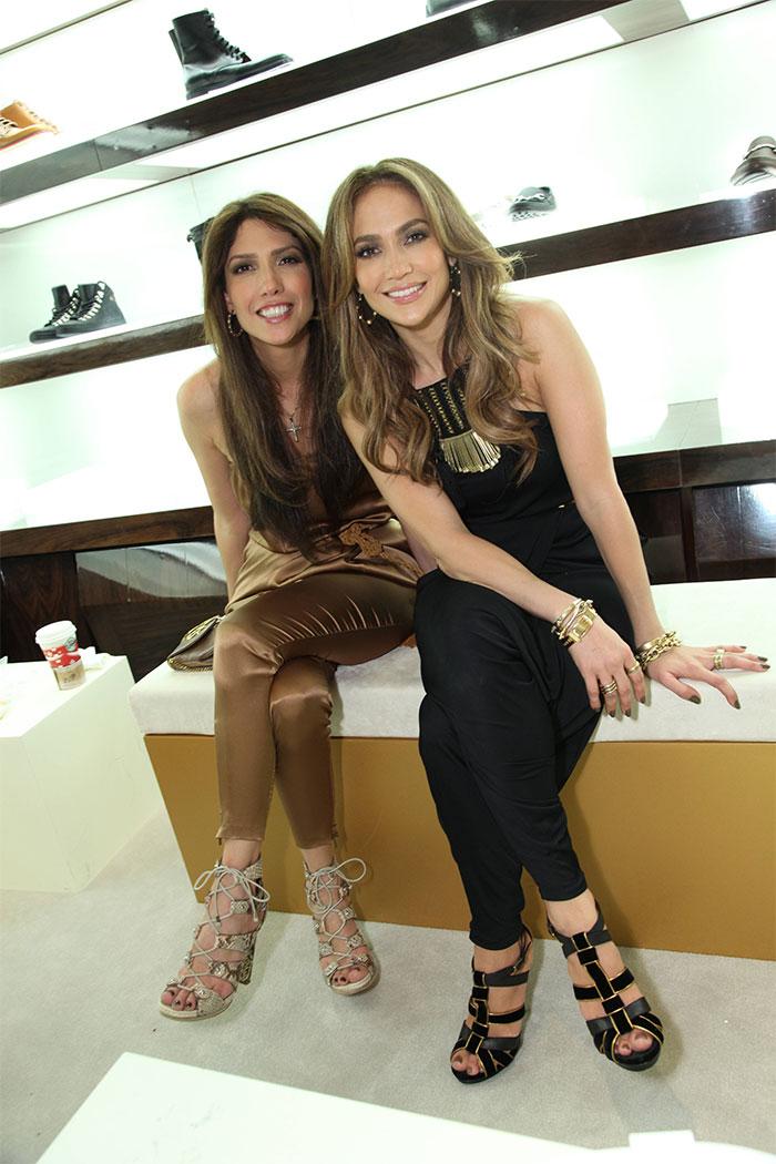 Jennifer Lopez กับน้องสาว Lynda