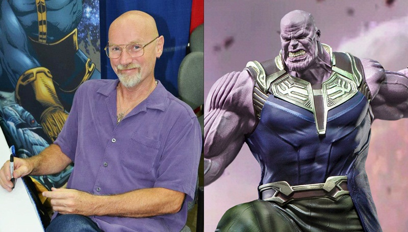 Avengers Infinity War จิม สตาร์ลิน ธานอส