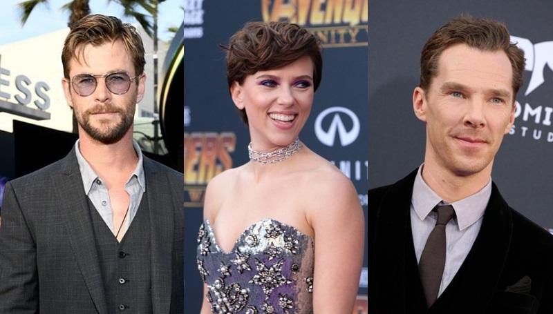 Avengers Avengers Infinity War marvel ซุปเปอร์ฮีโร่ นักแสดง นักแสดงฮอลลีวูด มาร์เวล
